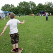 Welly throwing