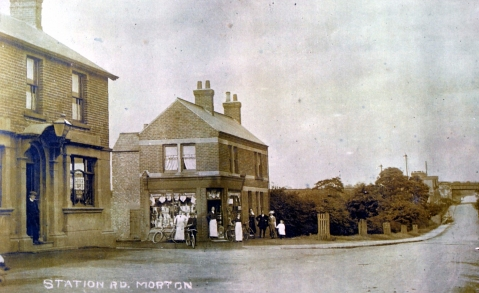 Corner Pin and Station Road - then